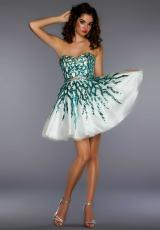 2013 Short MacDuggal Prom Dress 85137B
