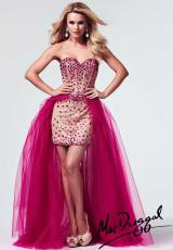 2014 MacDuggal Beaded Prom Dress 10004M