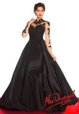 MacDuggal 61393R.  Available in Black/Nude, Midnight, Red/Nude