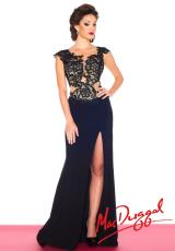 MacDuggal 61701R.  Available in Black/Nude, Red/Nude, Sapphire
