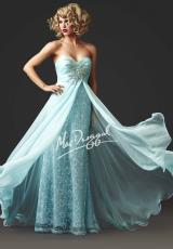 2014 MacDuggal Strapless Prom Dress 78437M