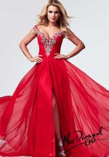2014 MacDuggal Sleeved Prom Dress 82010M
