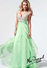 MacDuggal 82020M.  Available in Fuchsia/Nude, Key Lime