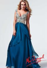 2014 MacDuggal Turquoise Prom Dress 82025M
