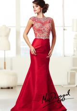 2014 MacDuggal Beaded Top Prom Dress 82066M