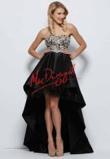 MacDuggal 82358M.  Available in Black/Nude