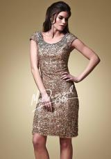 MacDuggal Cocktail 1643D.  Available in Gold