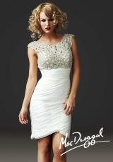 MacDuggal Cocktail 61388D.  Available in Ivory