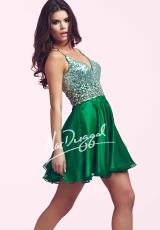 2014 MacDuggal Cocktail Dress 64885N