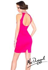 MacDuggal Cocktail 76524R.  Available in Black, Fuchsia