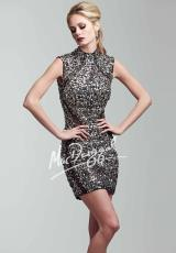 MacDuggal Cocktail 82196T.  Available in Black/Silver