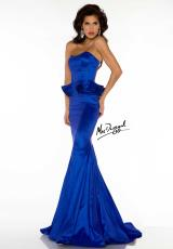 MacDuggal Couture 61566D.  Available in Sapphire, Watermelon