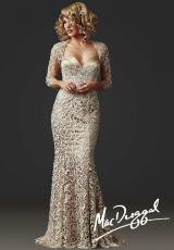 MacDuggal Couture 80257D.  Available in Champagne