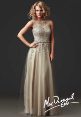 MacDuggal Couture 80269D.  Available in Stone