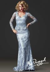MacDuggal Couture 80270D.  Available in Platinum, Sage