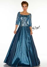 2014 MacDuggal Couture Sleeved Prom Dress 85223D