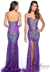 Milano Formals E1711.  Available in Purple