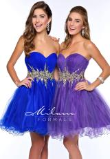 Milano Formals E1721.  Available in Purple, Royal
