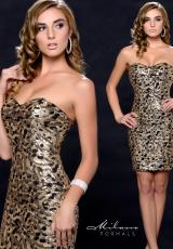 Milano Formals E1668.  Available in Black/Gold