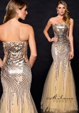 Milano Formals E1702.  Available in Nude