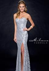 Milano Formals E1787.  Available in Silver