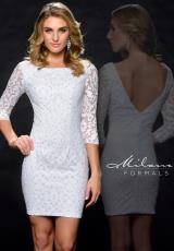 Milano Formals E1708.  Available in Ivory