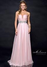 Milano Formals E1771.  Available in Peach