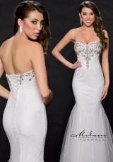 Milano Formals E1577.  Available in White