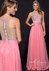 Milano Formals E1724.  Available in Coral