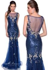 Milano Formals E1756.  Available in Navy