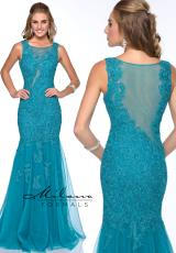 Milano Formals E1779.  Available in Teal