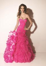 Mori Lee 2013 Bright Pink Prom Dress 91020SPC