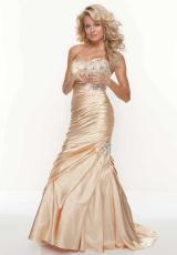 Mori Lee 91022.  Available in Gold, Peach, Turquoise