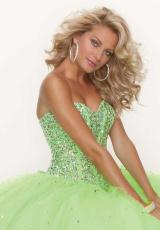Mori Lee 95122.  Available in Aqua, Daisy, Pink Panther, ToxicEX
