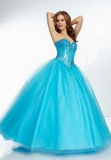 Mori Lee 2014 Ball Gown Prom Dress 95010