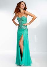 Mori Lee 2014 Beaded Prom Dress 95019