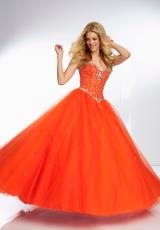 Mori Lee 95024.  Available in Orangeburst, Sizzle, Toxic