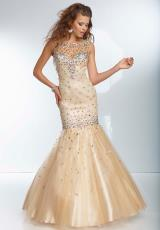 Beaded Mori Lee 2014 Prom Dress 95052