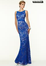 Mori Lee 97024.  Available in Black/Nude, Royal/Nude