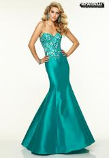 Mori Lee 97039.  Available in Deep Turquoise, Fuchsia