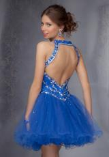 2014 Mori Lee Sticks & Stones Open Back Homecoming Dress 9275