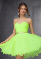 2014 Mori Lee Sticks & Stones Neon Homecoming Dress 9281