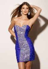 Mori Lee Sticks and Stones 9153.  Available in Black, Purple