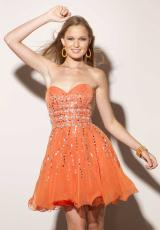 Mori Lee Sticks & Stones 9163.  Available in Orangeburst