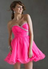Mori Lee Sticks and Stones 9237.  Available in Neon Pink, Purple