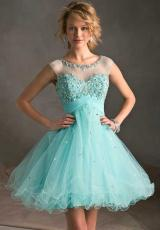 Mori Lee Sticks & Stones 9244.  Available in Aqua, Champagne