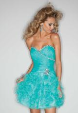 Mori Lee Sticks and Stones 9191.  Available in Black, Deep Aqua, Hot Pink