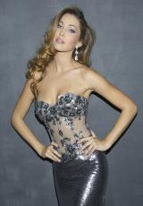2013 Stunning Night Moves Prom Dress 6611