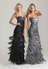 Strapless 2013 Night Moves Long Prom Dress 6634
