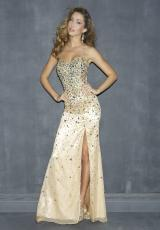 2013 Night Moves Long Prom Dress 6745